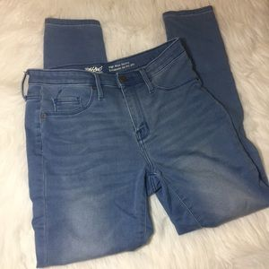 Mossimo skinny jeans high waist size 8 stretch
